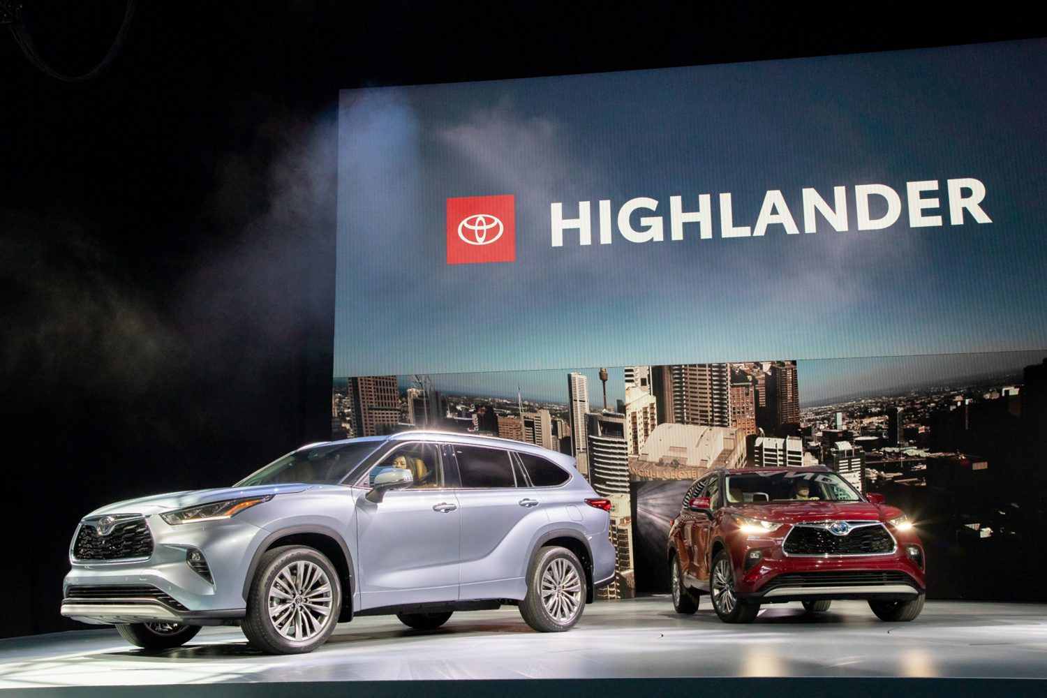 New York Auto Show 2020.2020 Highlander World Debut Drives Toyota Lineup At The New