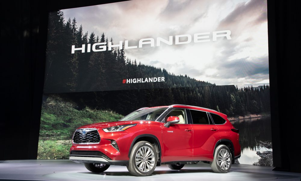 World Premiere of All-New 2020 Highlander at New York International Auto Show