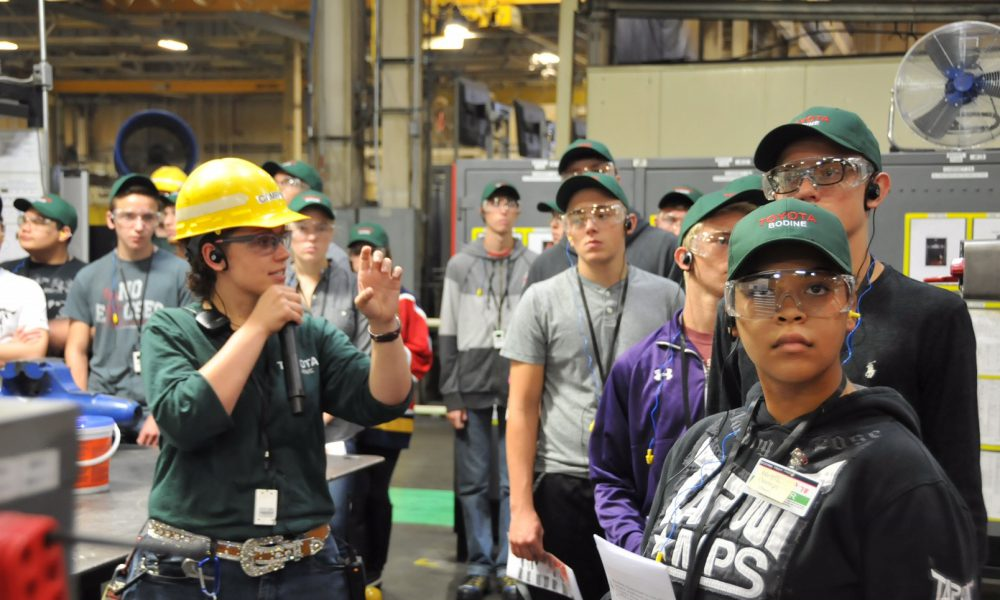 2016 Toyota Motor Manufacturing – Millennials Tour Toyota Motor Manufacturing on National Manufacturing Day 01