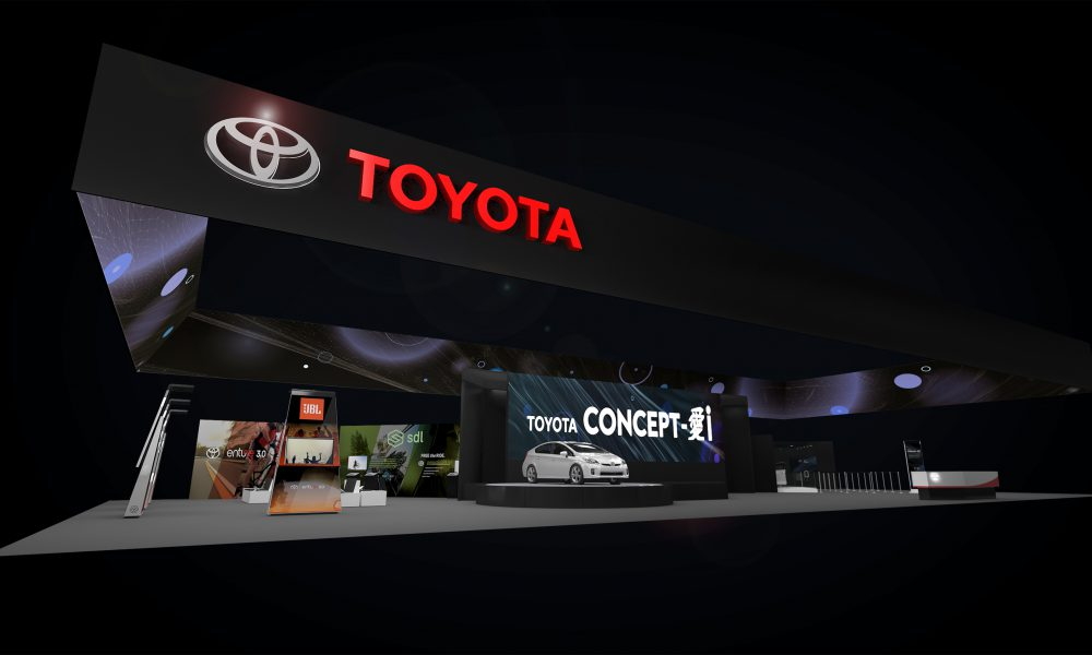 2017 Consumer Electronics Show (CES2017) – Toyota Display 01