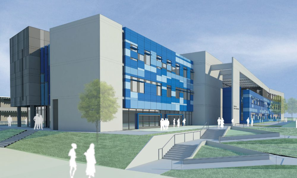 California State University Dominguez Hills (CSUDH) – Science/Innovation Building Exterior Rendering 03