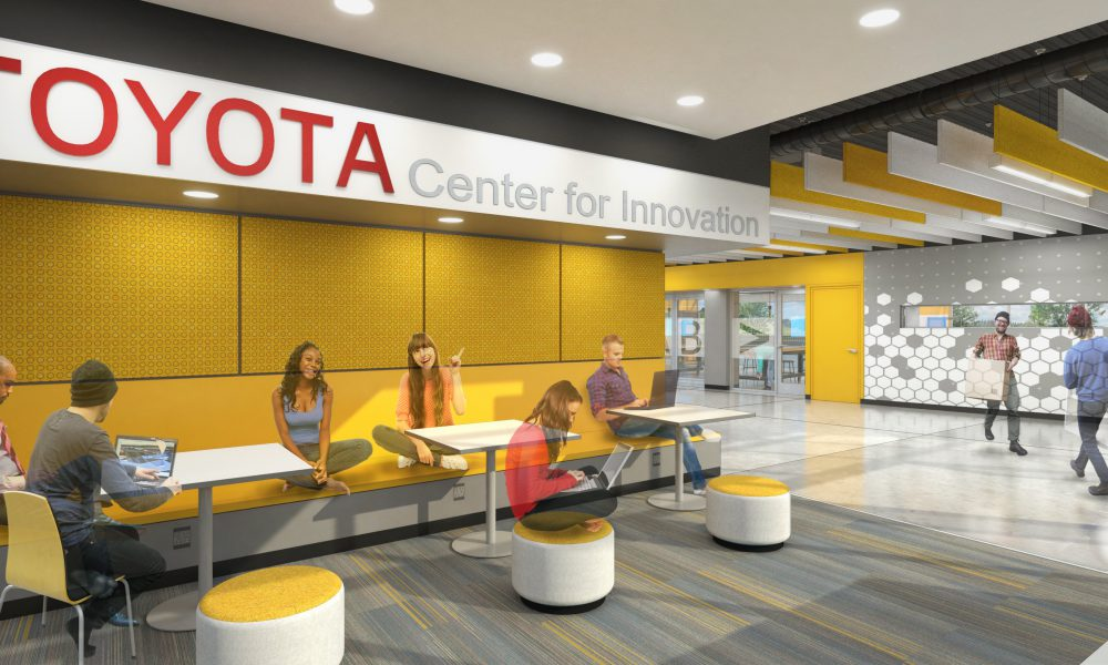 California State University Dominguez Hills (CSUDH) – Science/Innovation Building Interior Rendering 01