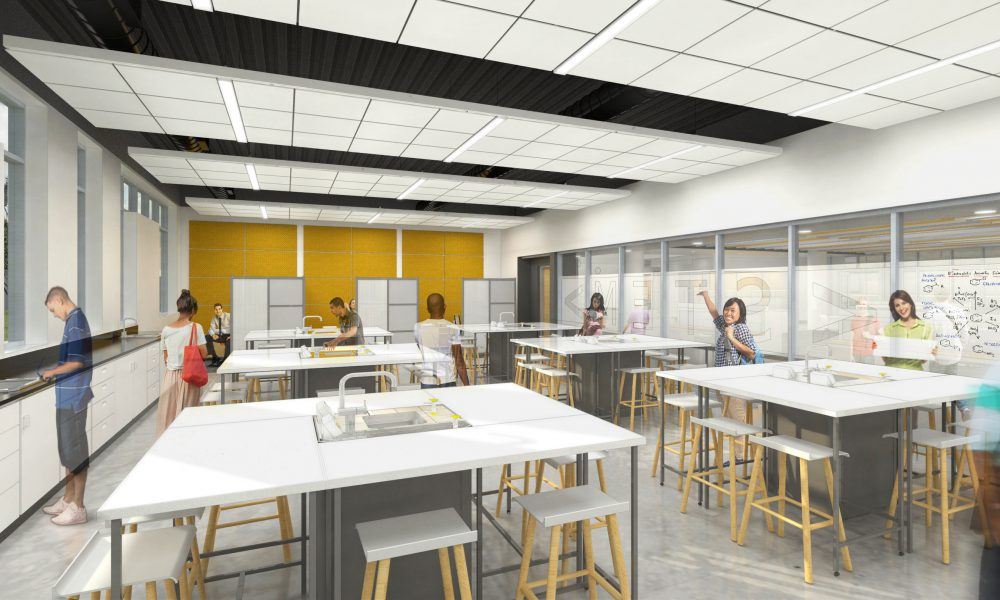 California State University Dominguez Hills (CSUDH) – Science/Innovation Building Interior Rendering 02