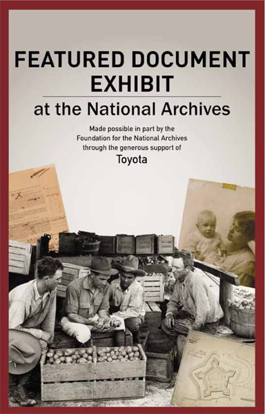 Toyota Helps Preserve Historic Documents Through $100,000 Gift to National Archives