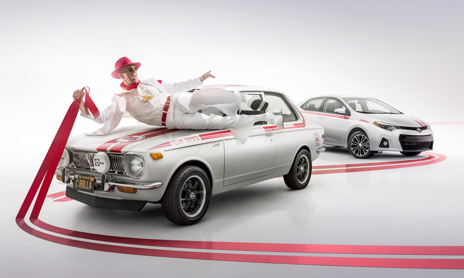 Toyota Corolla Commemorates 50 Years with Historical Display at SEMA 2016