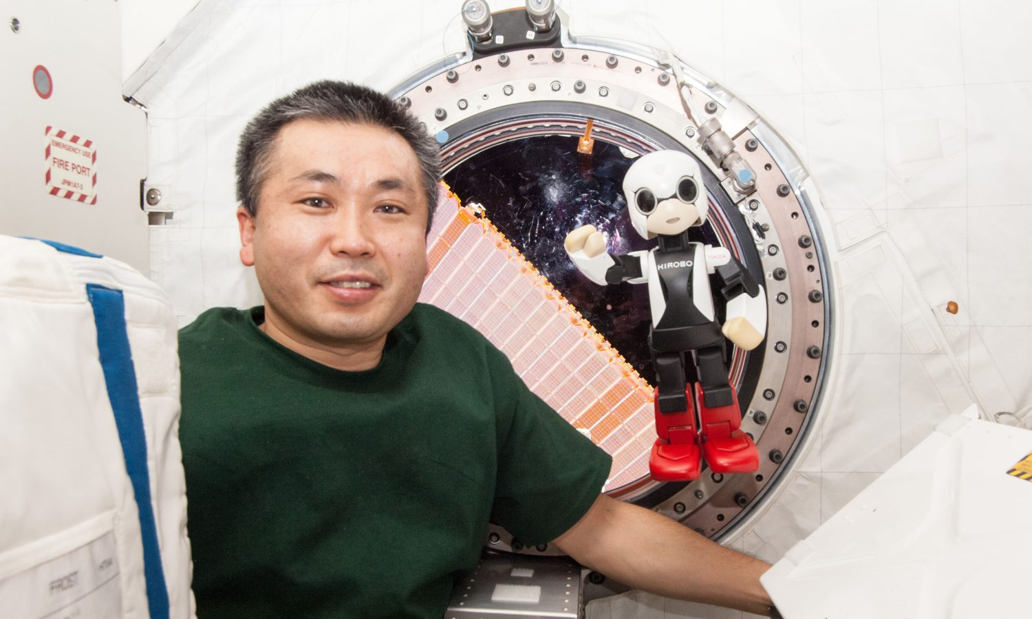 Robot Astronaut Has Historic Talk on International Space Station