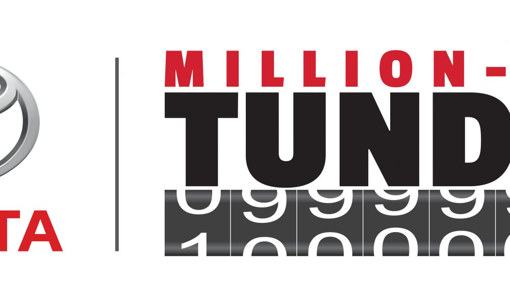 Million Mile Toyota Tundra logo