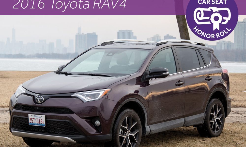 RAV4 'Top of the Class' for Car Seat Installation, According to Cars.com