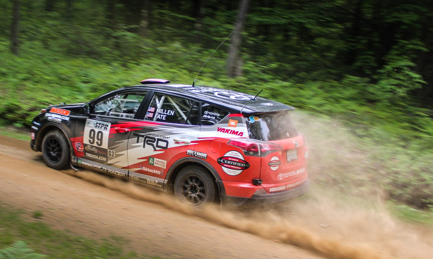 Ryan Millen and RAV4 Take Second at STPR