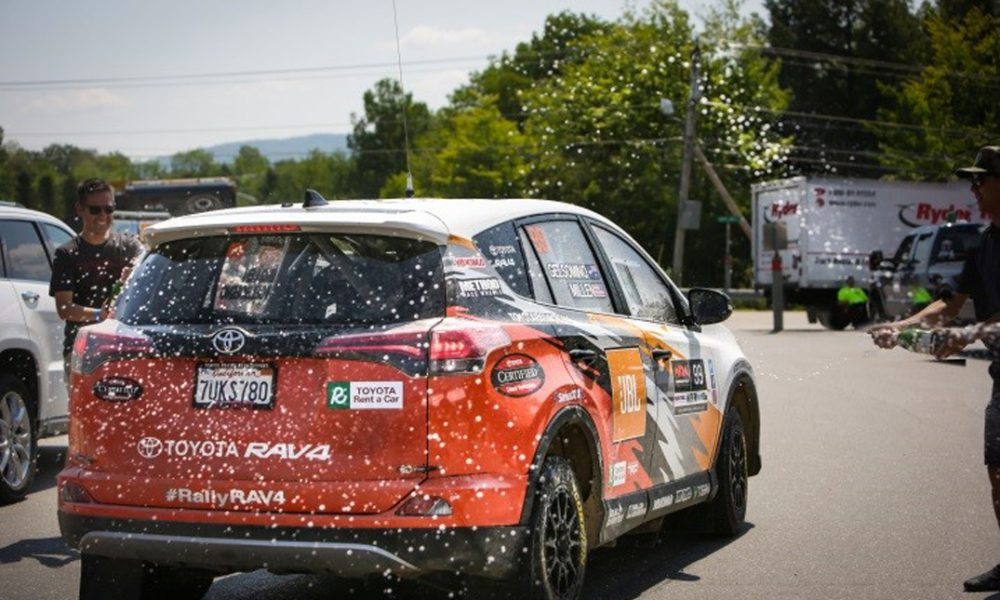 Toyota's Rally RAV4 clinches championship along with NHRA Mile-High triumph over weekend