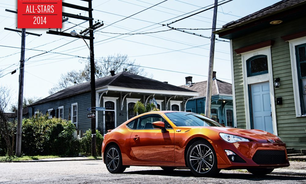 Scion FR-S Shines Again as AUTOMOBILE Magazine All-Star