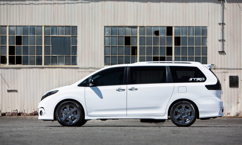 2016 One Lap of America – Toyota Sienna SE + Concept 001