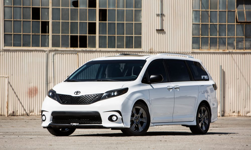2016 One Lap of America – Toyota Sienna SE + Concept 002