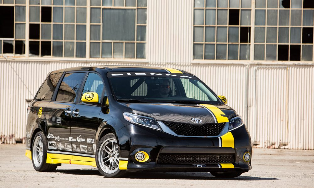 2016 One Lap of America – Toyota Sienna R-Tuned Concept 001
