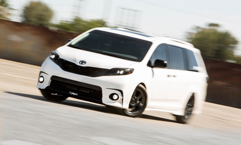 2016 One Lap of America – Toyota Sienna SE + Concept 005