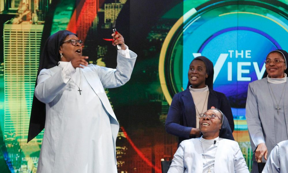 Whoopi Goldberg, ABC?s 'The View' and Toyota Present 2016 Toyota Sienna to Harlem Nuns 001