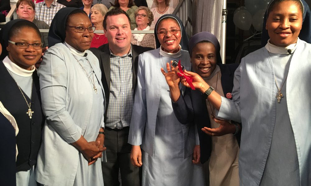Whoopi Goldberg, ABC?s 'The View' and Toyota Present 2016 Toyota Sienna to Harlem Nuns 002