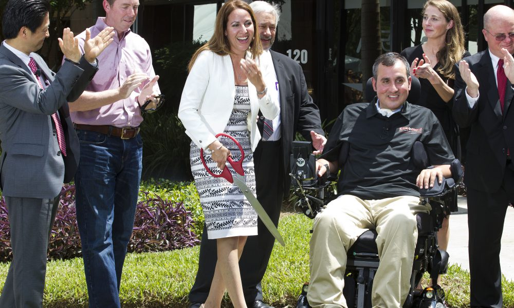 2015 Toyota Community Giving – Stay In Step Spinal Cord Injury Recovery Center Opens 002
