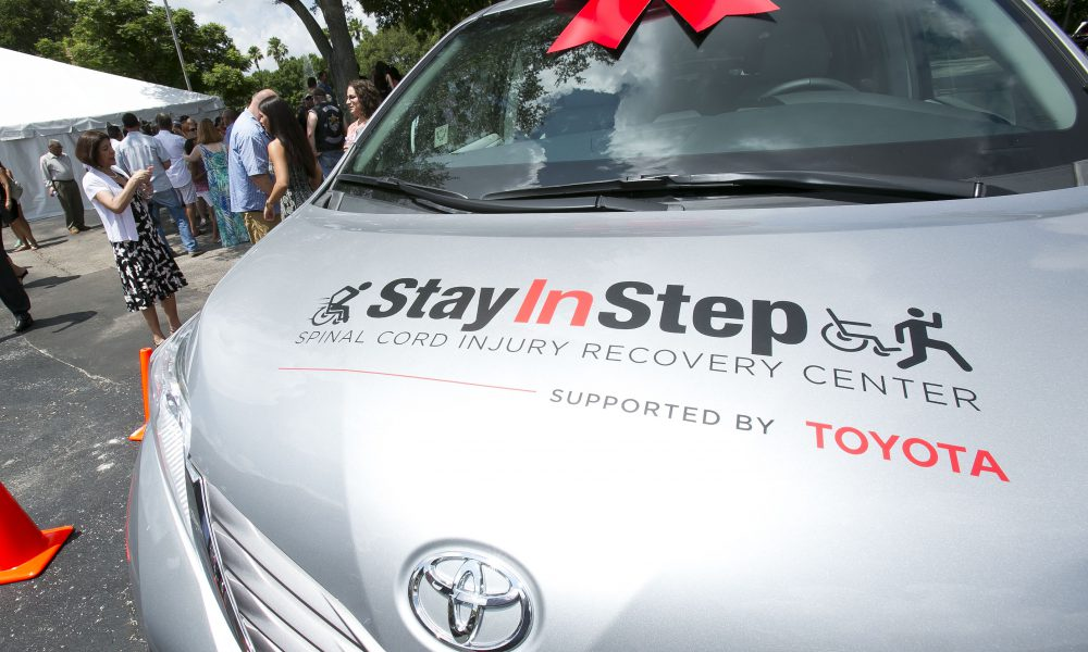 2015 Toyota Community Giving – Stay In Step Spinal Cord Injury Recovery Center Opens 005