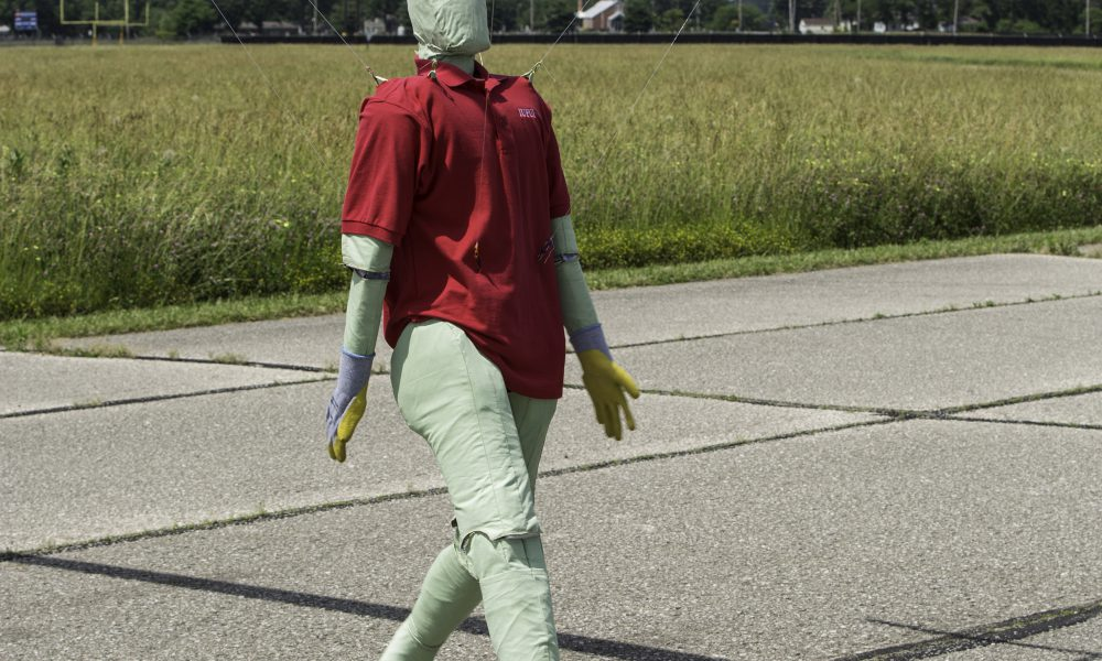 Toyota Collaborative Safety Research Center – Pedestrian Mannequins and PCS – Steve the Dummy 002
