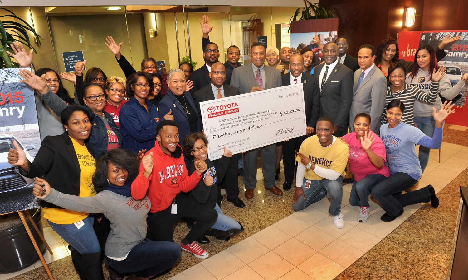Toyota Financial Services Honors Martin Luther King, Jr. Legacy with Donations to Historically Black Colleges and Universities