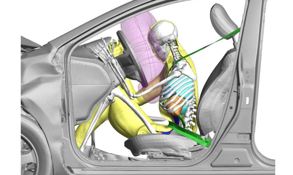 THUMS Version 4 – Front Collision Simulation with Adult Male