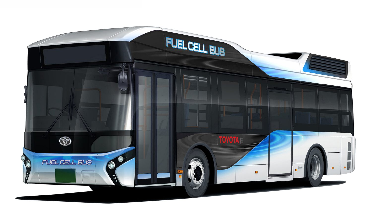 Toyota to Start Sales of Fuel Cell Buses under the Toyota Brand from Early 2017 (in Japan)