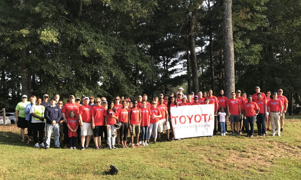 Toyota Manufacturing Plants Show Their Dedication to the Environment through National Public Lands Day