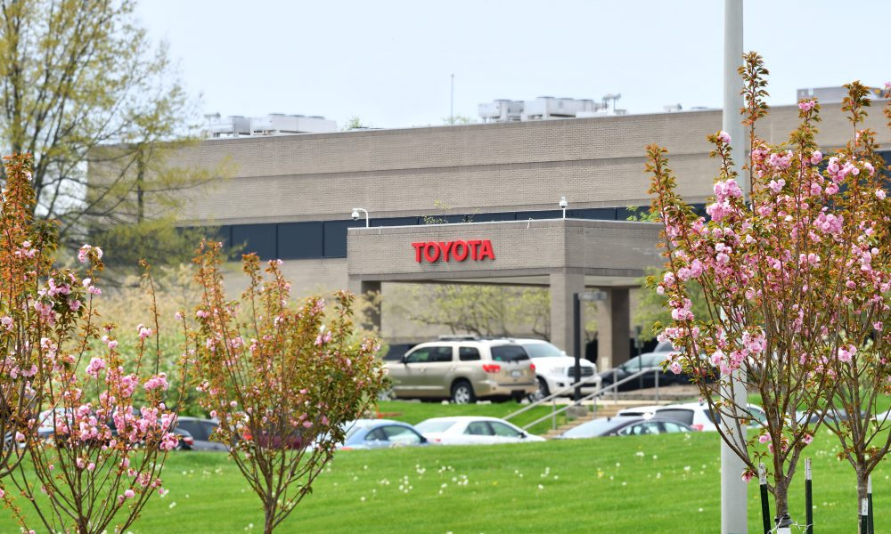 2016 Earth Day – Toyota Motor Manufacturing Kentucky (TMMK) Cherry Blossoms