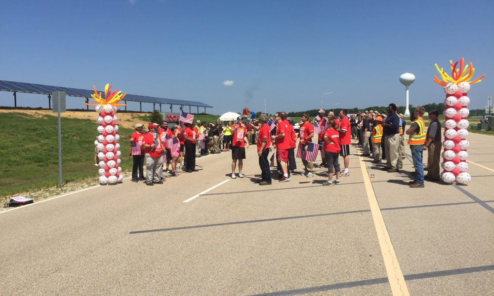 2015 Toyota Mississippi (TMMMS) – Special Olympics Flame of Hope 002