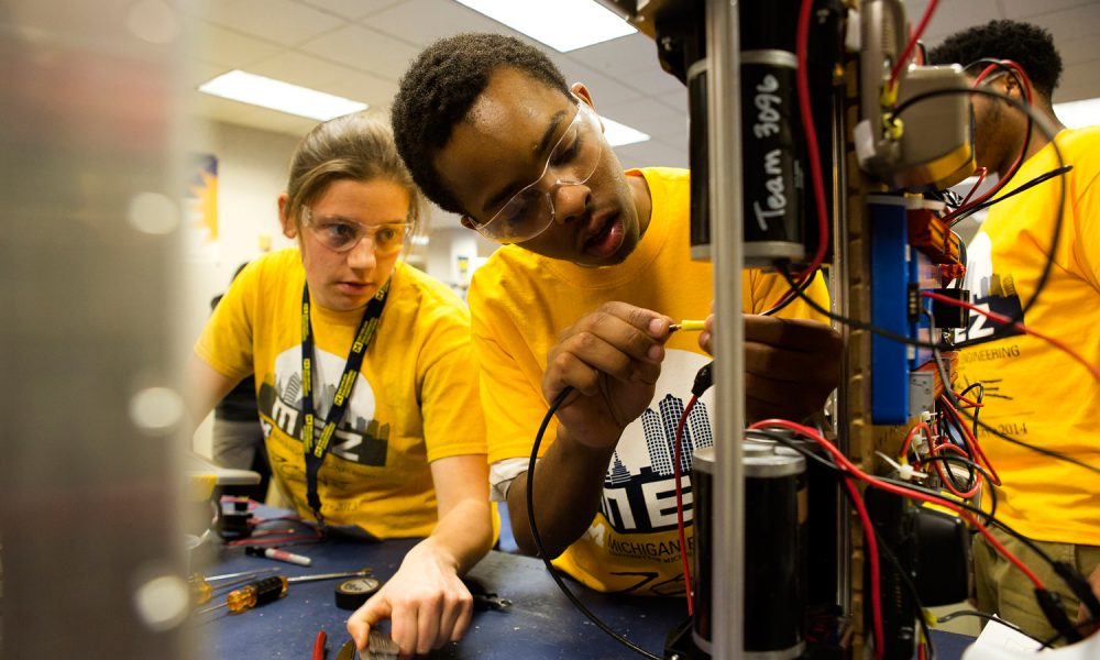 What Combines the Thrill of Sports and the Excitement of Science and Technology? FIRST Robotics