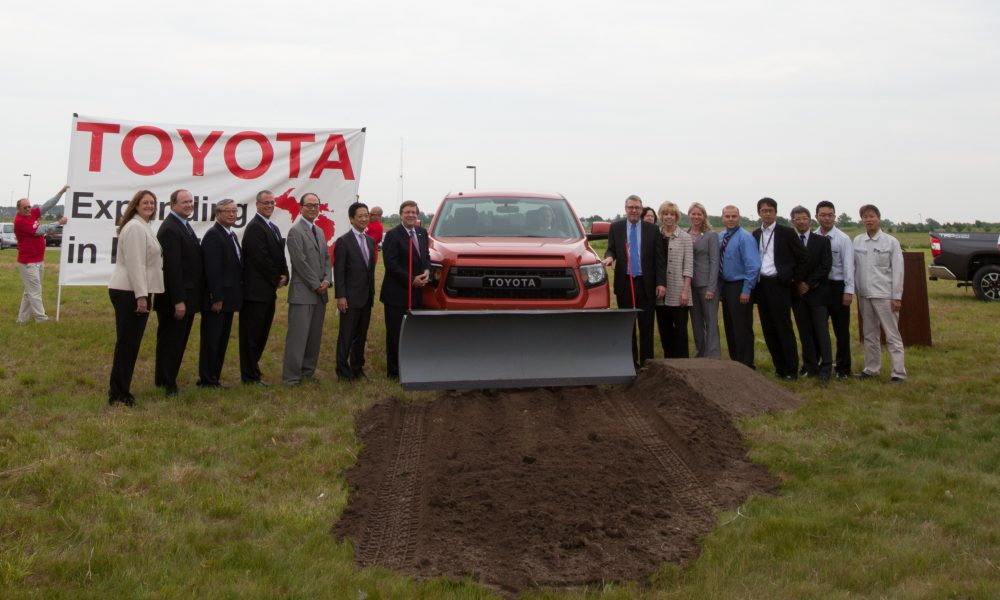 Toyota Technical Center – York Township Expansion Groundbreaking 002