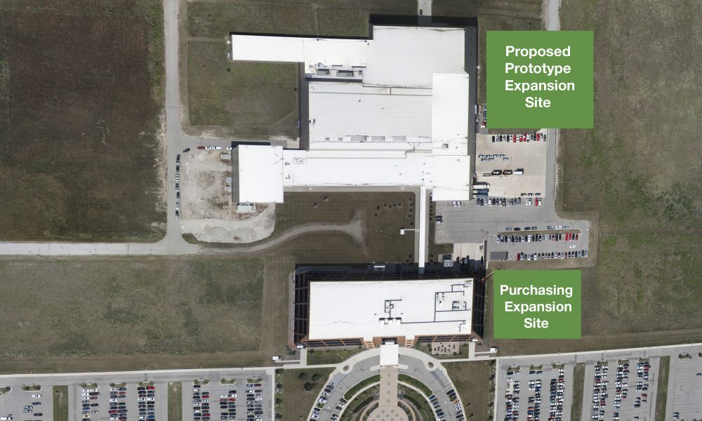 Toyota Technical Center – York Township Expansion Aerial 001