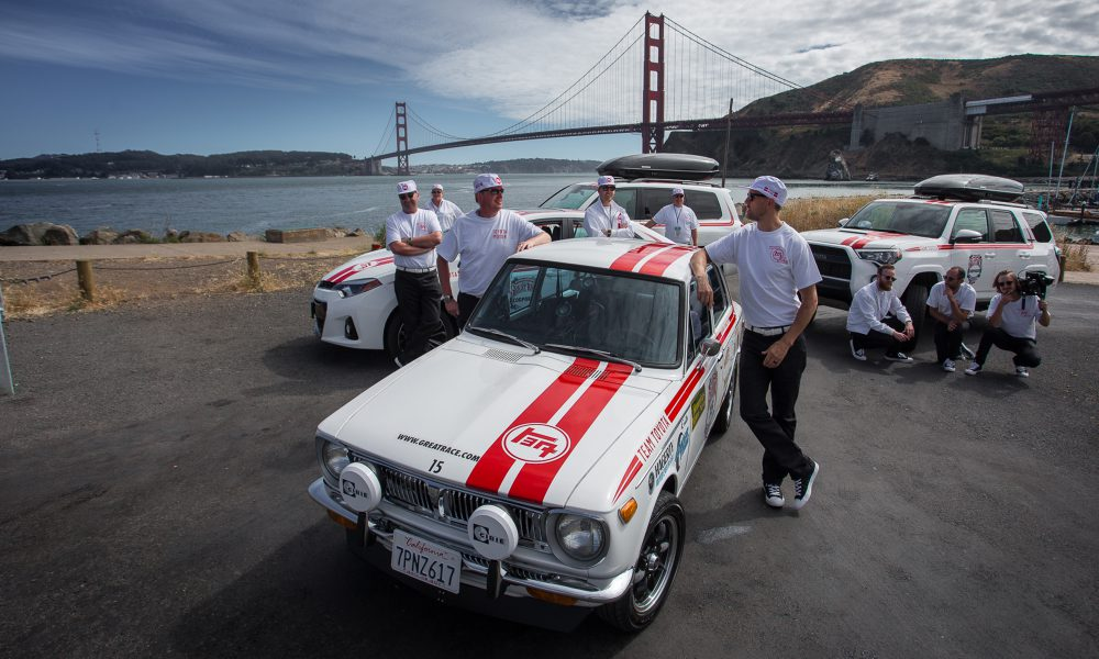 Classic Toyota Corolla Debuts in the Coast-to-the-Heartland 2016 Great Race