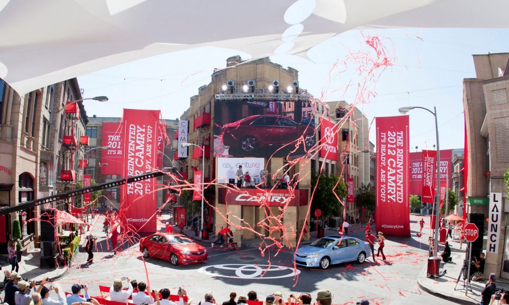 Global Reveal 2012 Toyota Camry – Hollywood 002