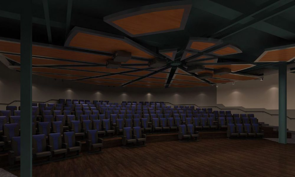 2017 Toyota 4D Engineering Theater Michigan Science Center Rendering