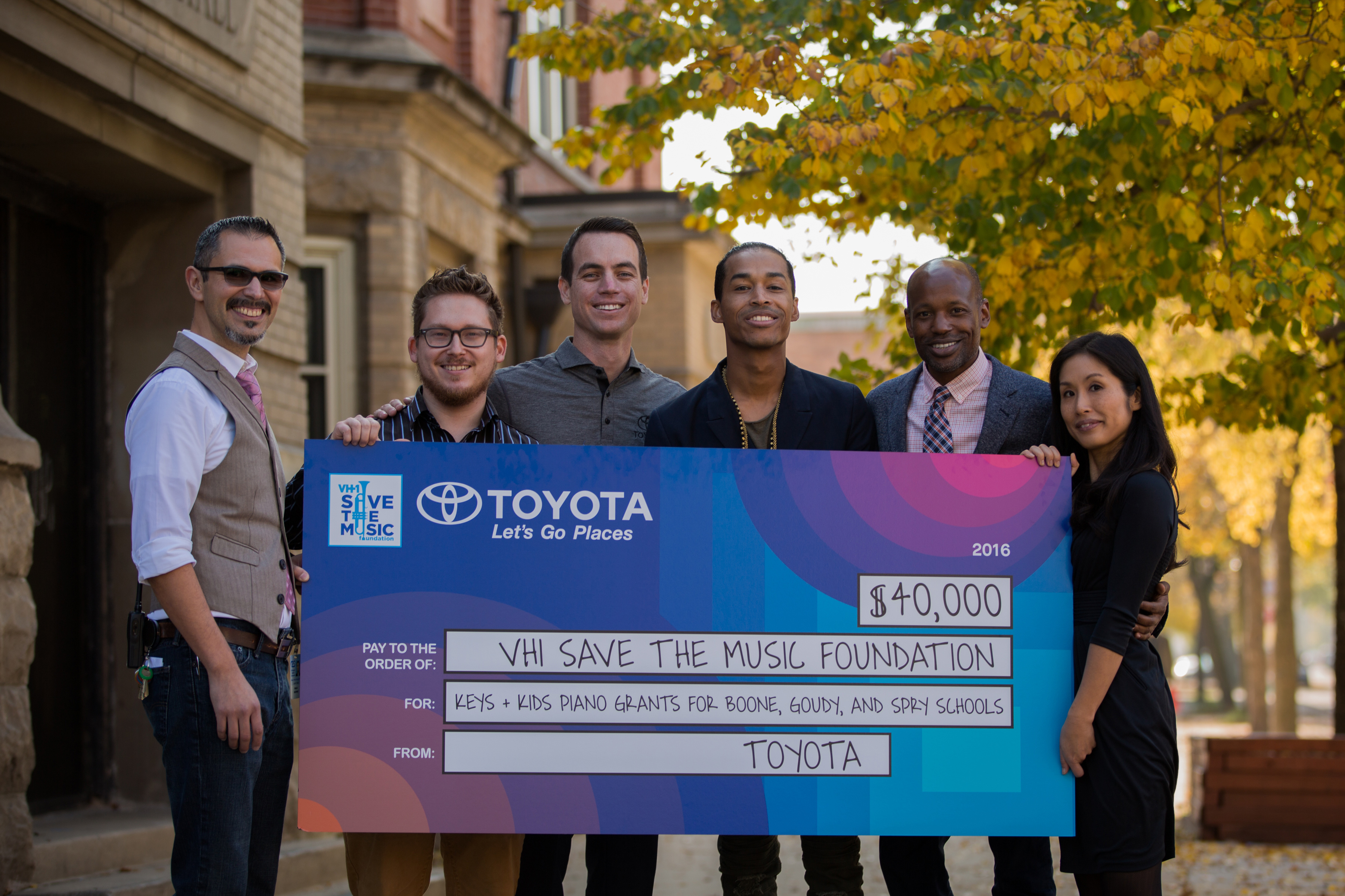 Toyota and VH1 Save The Music National Music Education