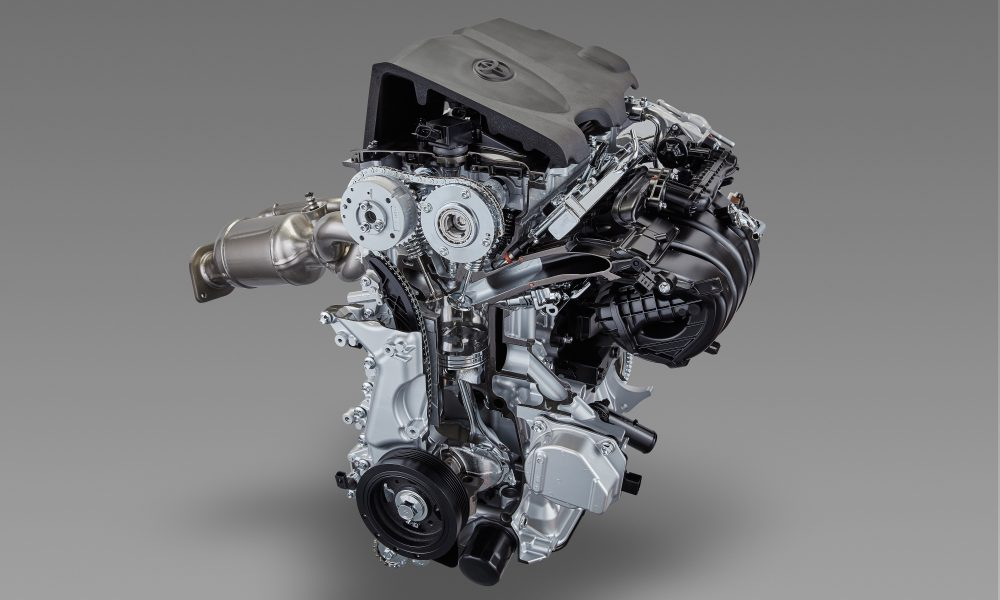 Toyota Develops TNGA-based Powertrain Units – Inline 4 Cylinder 2.5L Direct Injection Gasoline Engine