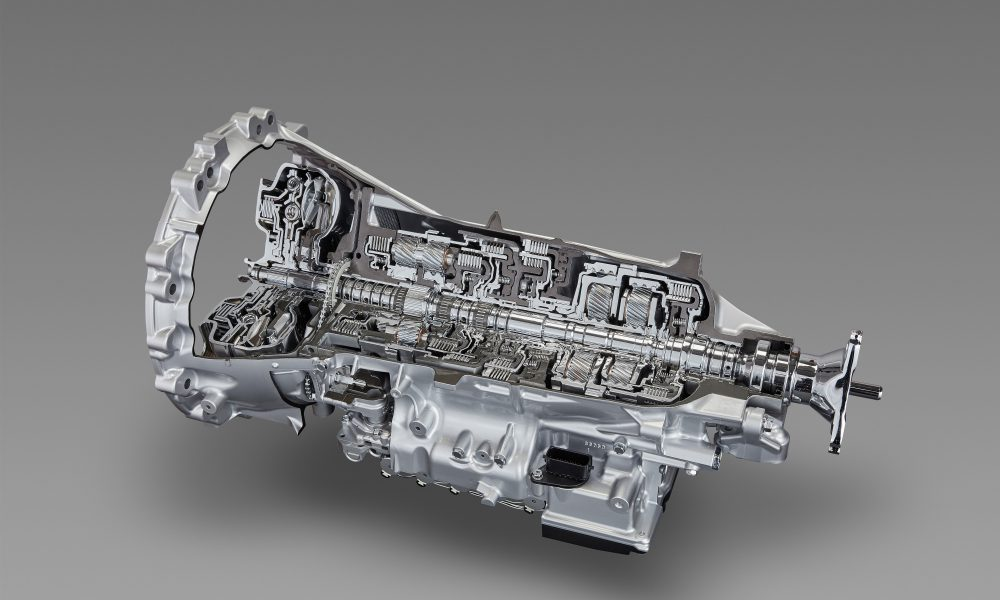 Toyota Develops TNGA-based Powertrain Units – FR 10-speed Automatic Transmission