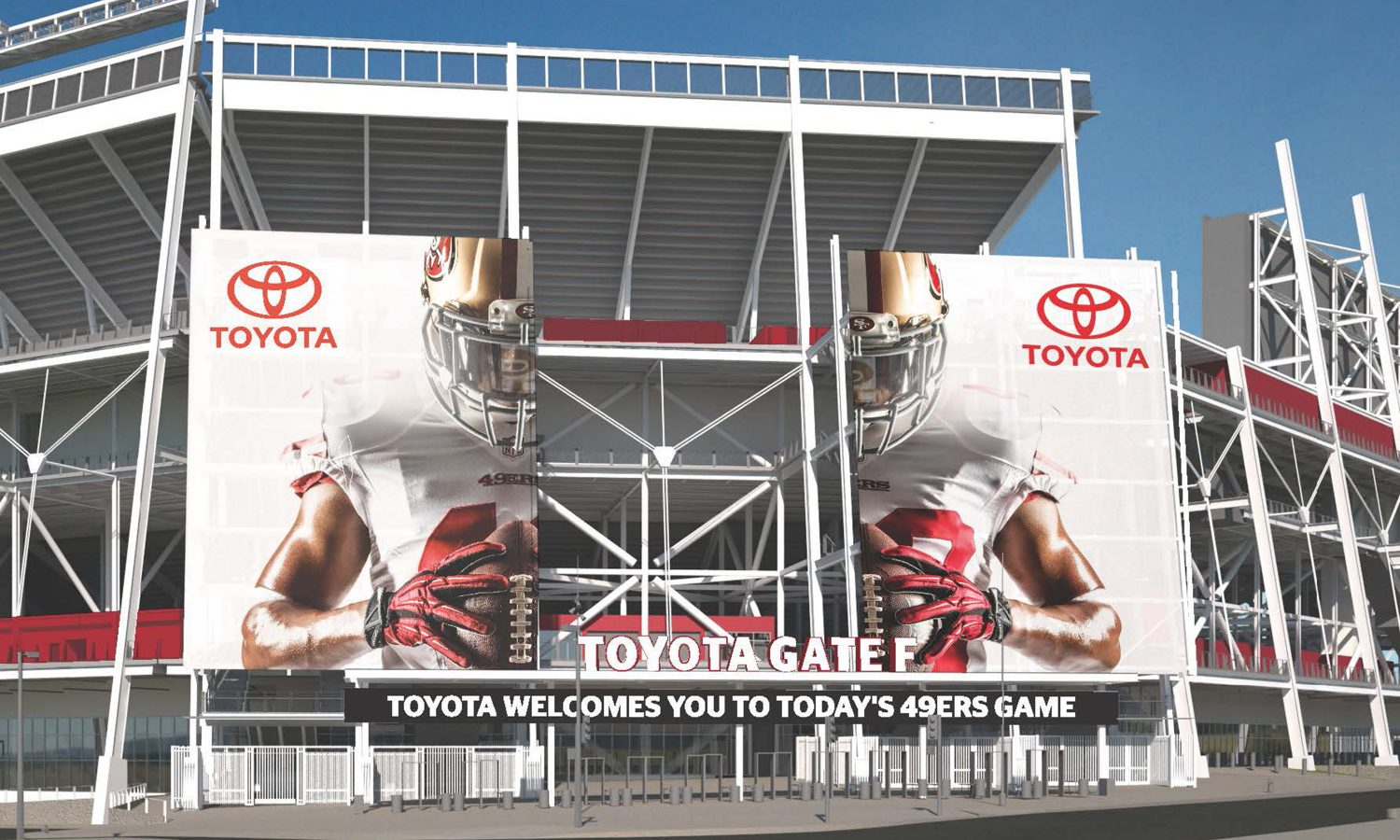 Toyota Named Exclusive Auto Partner of the San Francisco 49ers and Levi's® Stadium