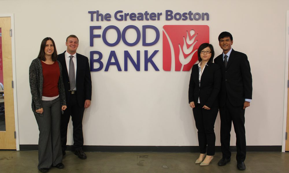 Toyota and Babson College Partner with the Greater Boston Food Bank to Provide Students with Real World Experience and Help Deliver More Food Faster