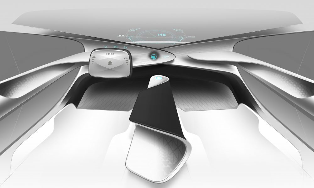 Toyota Concept-i Early Interior Sketch 01