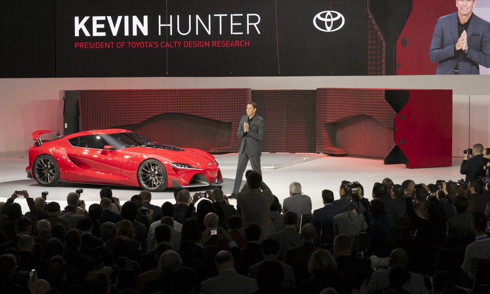 2014 NAIAS – Toyota FT-1 Reveal 001