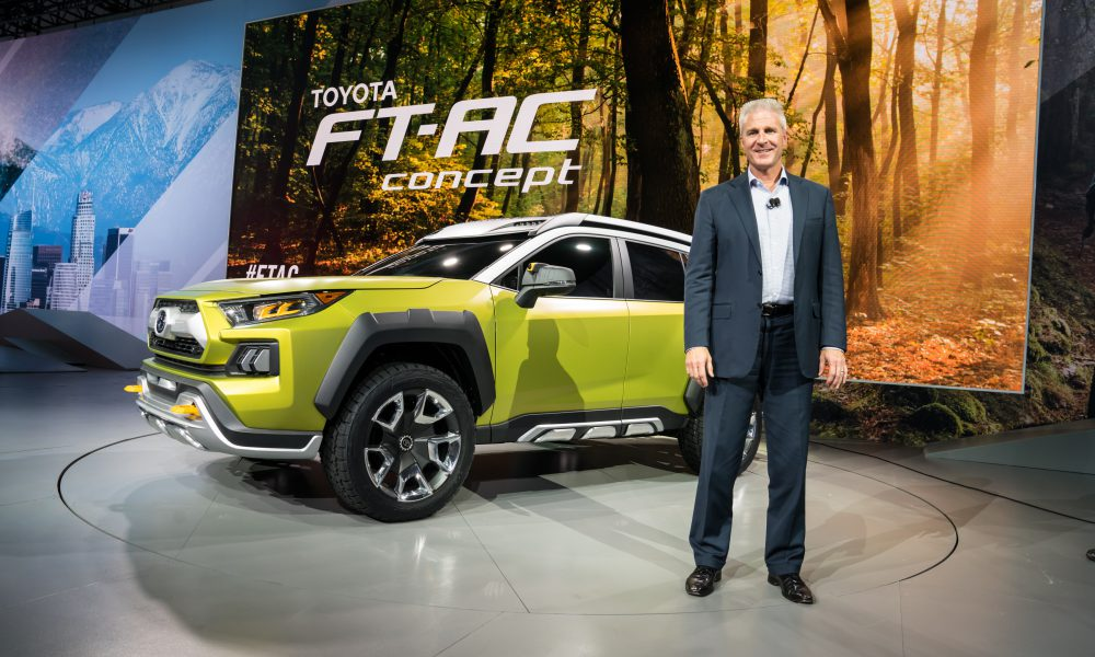 Jack Hollis, GVP and GM, Toyota Division: 2017 LA Auto Show, FT-AC Concept Reveal
