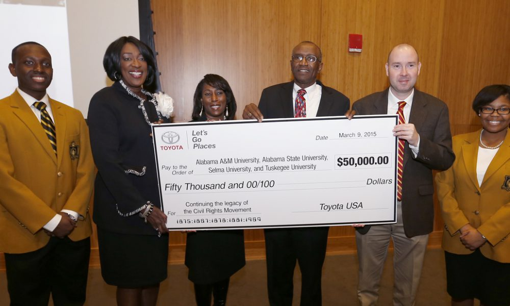 Toyota Historically Black Colleges and Universities Donation
