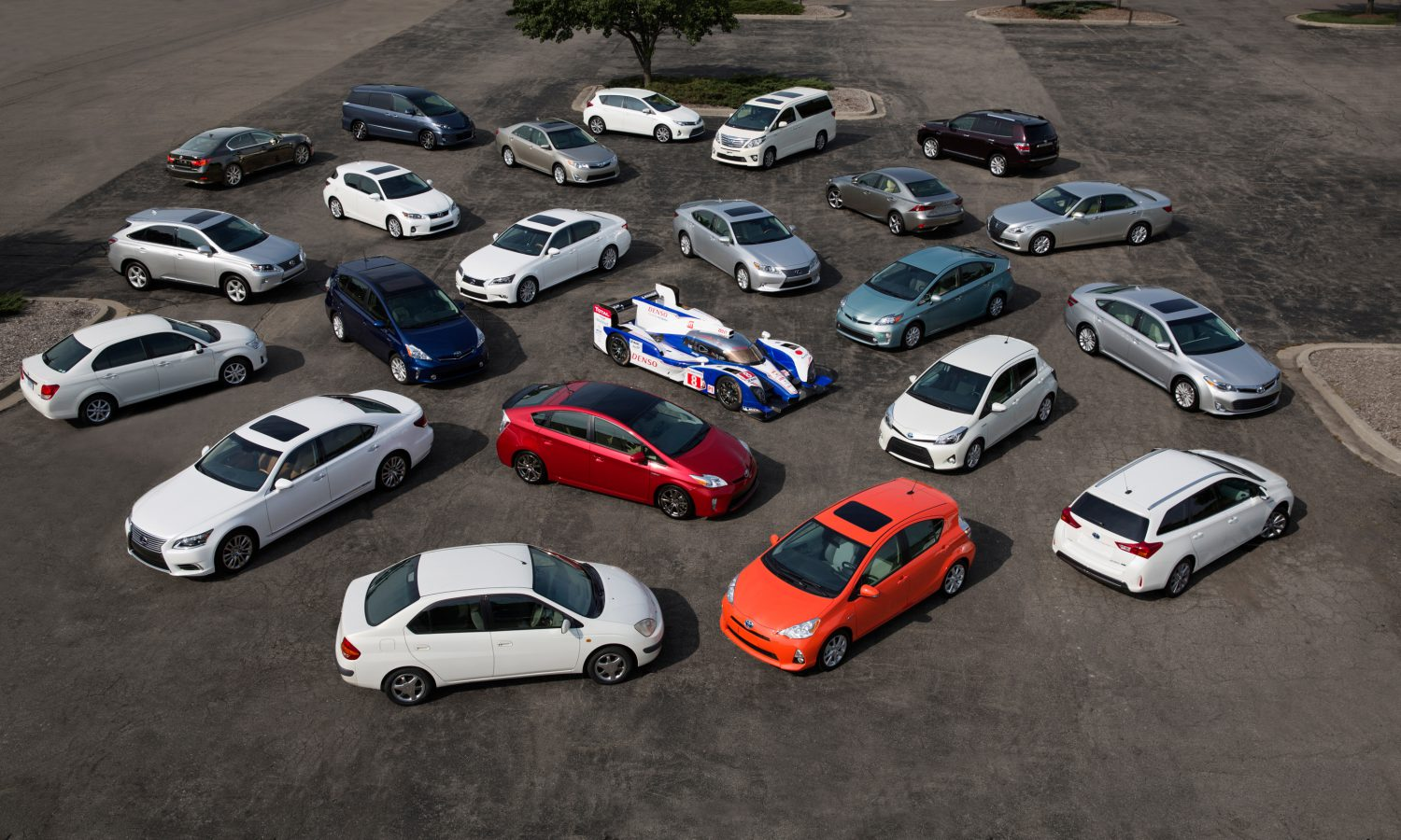 Toyota is Global Hybrid Leader with Sales of 7 Million
