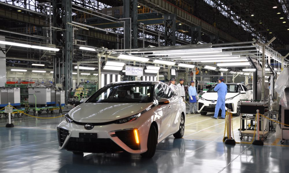 How the Future is Made: Behind the Scenes of Toyota Mirai Production