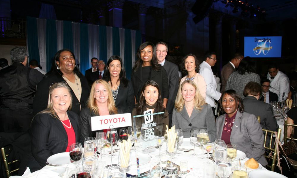 Toyota is Sole Automaker to be Named One of DiversityInc's Top 50 Companies for Diversity
