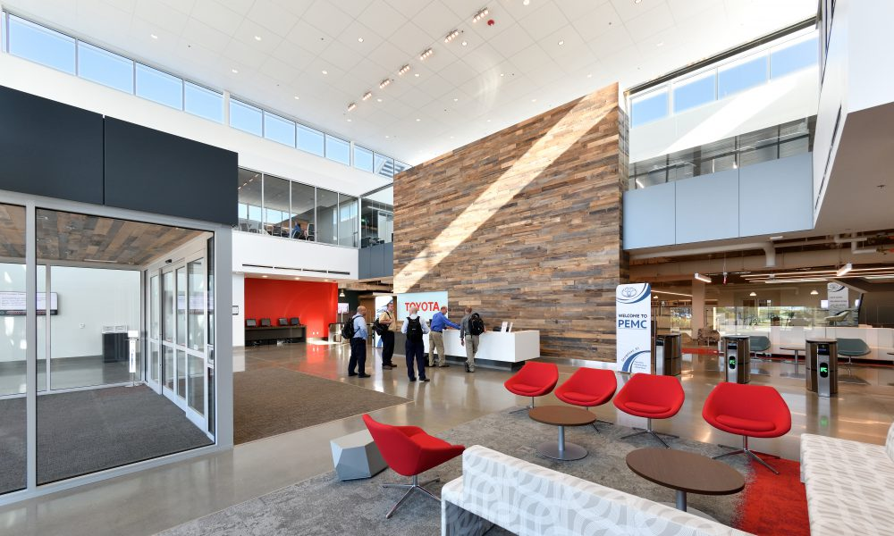 Toyota Production Engineering and Manufacturing Center Lobby
