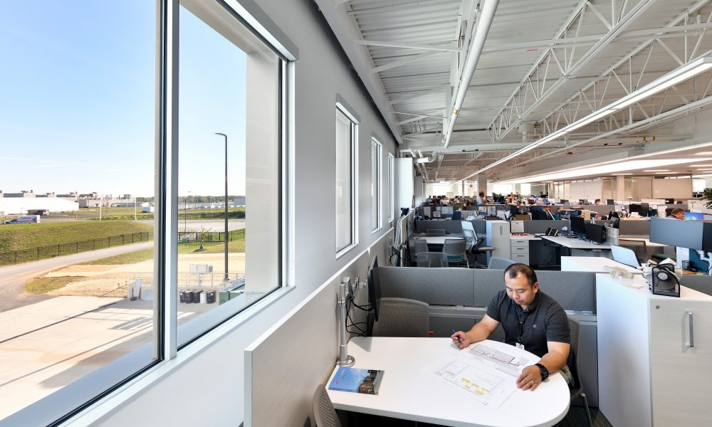 Toyota Production Engineering and Manufacturing Center Workspace
